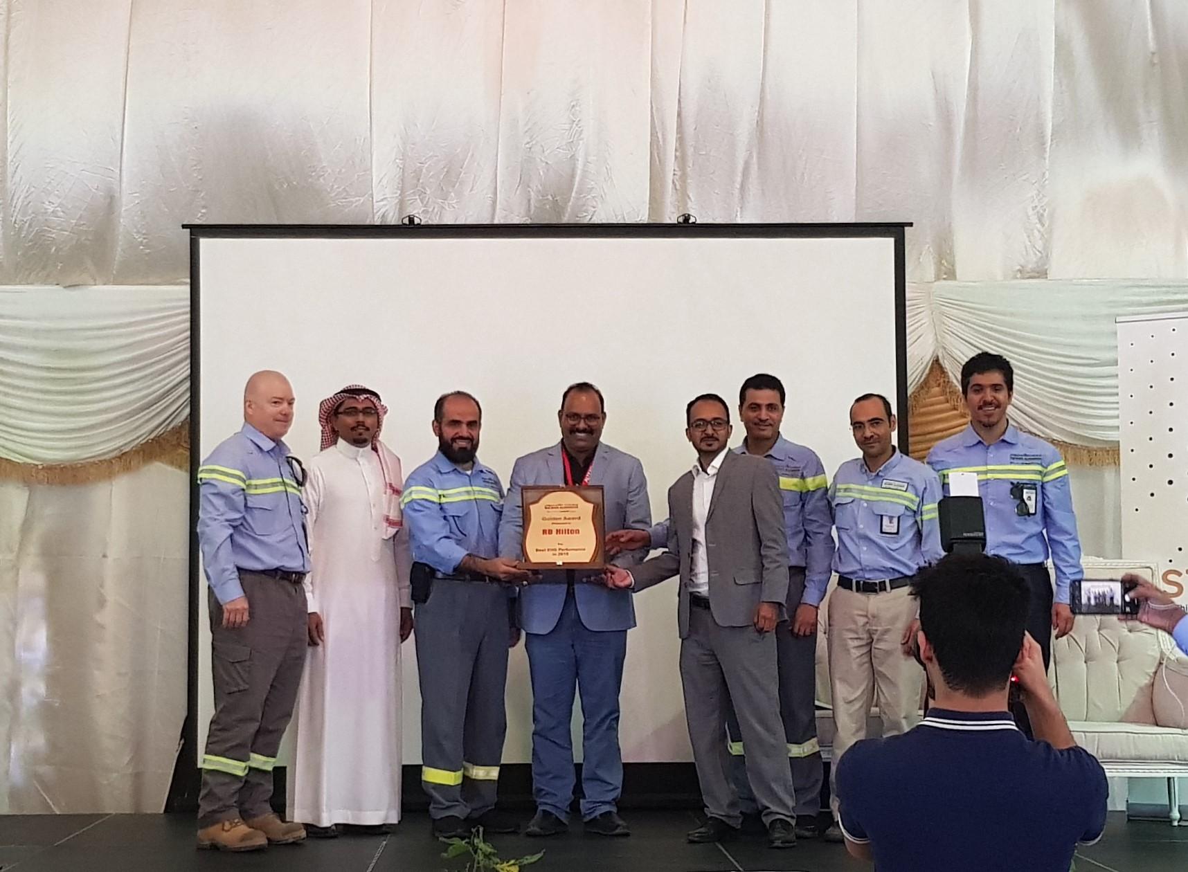 Altrad - R B  Hilton Received the Golden Award - Altrad Group